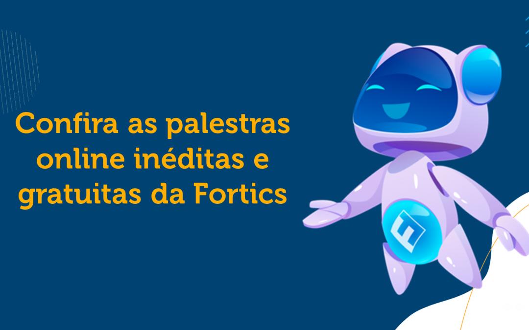 Palestras Online Fortics Realizadas