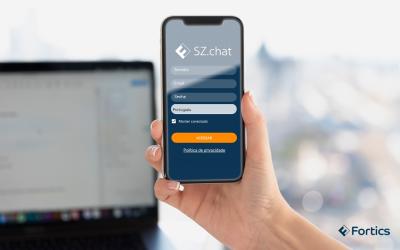 Fortics SZ.chat APP para smartphones: atendimento profissional de onde estiver