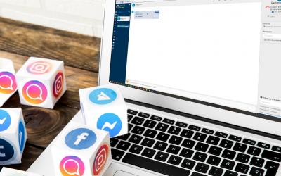 Sim! Podemos automatizar a gestão de comentários no Instagram e Facebook