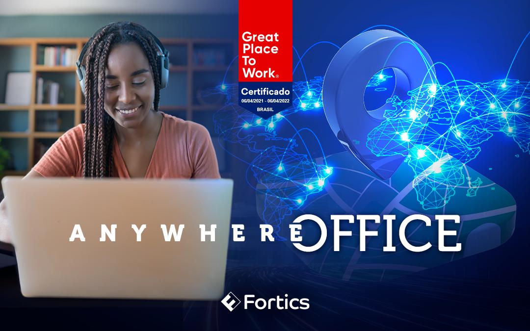 Fortics adere permanentemente ao modelo de trabalho home office