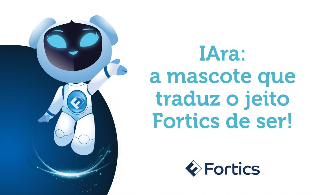 IAra: a mascote que traduz o jeito Fortics de ser!