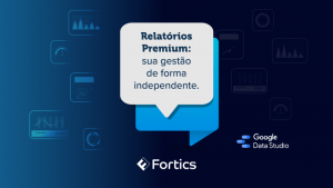imagem de dashboard com a frase Relatórios Premium